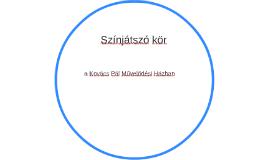 Színjátszó kör
