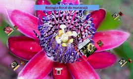 Biologia floral do maracujá