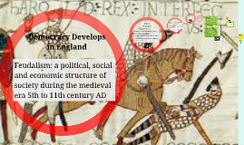 Feudalism and Democracy Develop in England