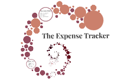 The Expense Tracker