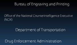 gov't departments!