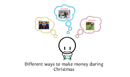 Different ways to make money during Christmas