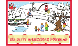 Copy of Mr Jolly Christmas Postman