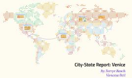 City-State Report: Venice