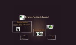 Copy of Empresa Modelo de Gestão !