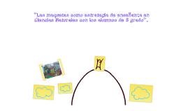 """""""Las maquetas como estrategia de enseñanza en Ciencias Naturales con los alumnos de 5º grado""""."""