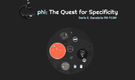 phi: The Quest for Specificity
