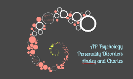 AP Psychology Personality Disorders Project