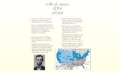 Political Causes of the Civil War