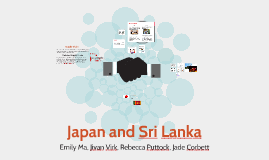 Japan and Sri Lanka