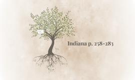 Indiana p. 258-283