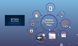 Modular emulsion plant
