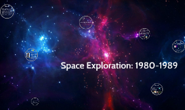 Space Exploration during 1980-1989