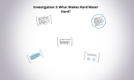 Investigation 3: What Makes Hard Water Hard?
