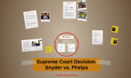 us supreme court bench memorandum for snyder v phelps Memo in opposition to in cox broadcasting corp v cohn, the supreme court struck down a some cite the supreme court ruling in snyder v phelps, 562 us.