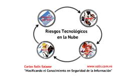 Riesgos Tecnológicos en la Nube