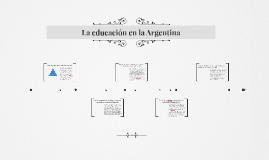 La educación en la Argentina