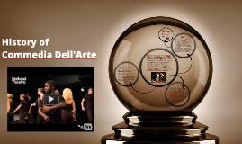 History of Commedia Dell'Arte