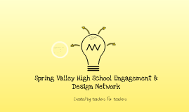 Spring Valley High School Engagement & Design Network
