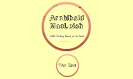 ars poetica archibald macleish essay Free essay on critical analysis of ars poetica by archibald macleish available totally free at echeatcom, the largest free essay community.