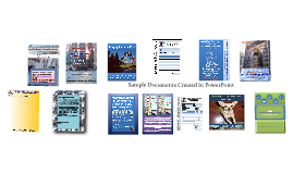 Unique Documents Created In PowerPoint