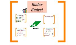 Radar - Budget