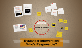 Bystander Intervention: Who's Responsible?
