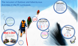 Copy of The inclusion of Outdoor and Adventurous Activities in the Physical Education curriculum.