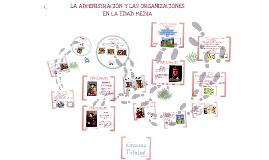 Copy of LA ADMINISTRACIÓN Y LAS ORGANIZACIONES EN LA EDAD MEDIA