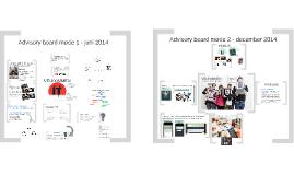 Advisory Board - møde 1 + 2 - 2014