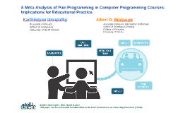 A Meta-Analysis of Pair-Programming in Computer Programming