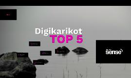 Menestyvät järjestöt - Järjestön Digikarikot Top 5