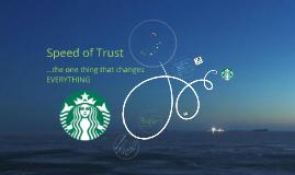 Copy of Speed of Trust