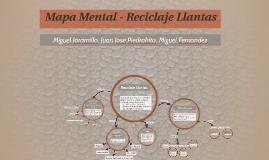 Mapa Mental - Reciclaje Llantas