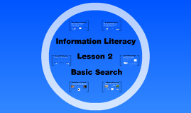 Info Literacy Curriculum #2 - Basic Search