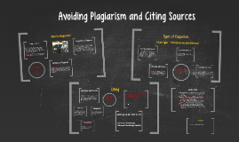 Avoiding Plagiarism and Citing Sources