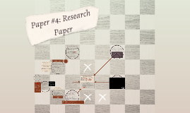 Paper #4: Research Paper