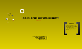 Copy of The Cell Theory: A Historical Perspective