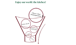 Enjoy our world: the kitchen!