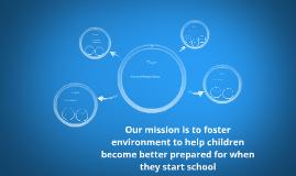 Preschool Program Design