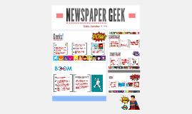 NEWSPAPER GEEK