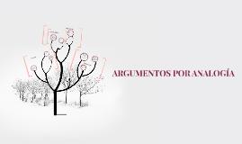 Copy of ARGUMENTOS POR ANALOGIA