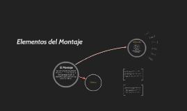 Copy of Elementos del Montaje