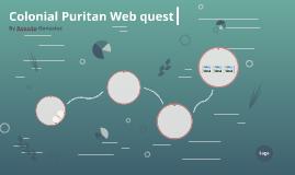 Colonial Puritan Webquest