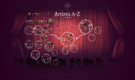 Artists A-Z