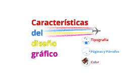 Características del diseño gráfico