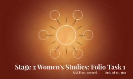 Stage 2 Women's Studies: Folio Task 1