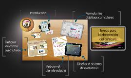 Copy of TAREAS PARA LA ELABORACION DEL CURRICULO
