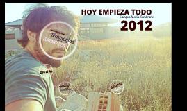 HOY EMPIEZA TODO