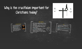 Why is the Crucifixion important for Christians today?
